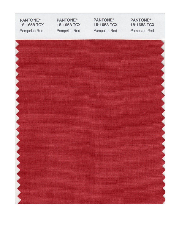 Pompeian Red Pantone Color Swatch Pantone Colour Palettes