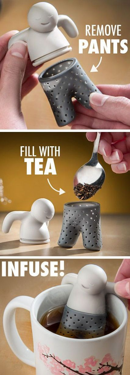 Relaxing Tea Infuser ❤︎ Cute❣ #kitchengadgets #beverages