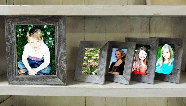 Rustic Farmhouse Picture Frame Bundle Pack 1 8x10 2 4x6 2 5x7
