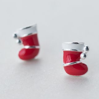 Buy A'ROCH 925 Sterling Silver Christmas Socks Sterling Silver Earrings at YesStyle.com! Quality products at remarkable prices. FREE WORLDWIDE SHIPPING on orders over US$35.
