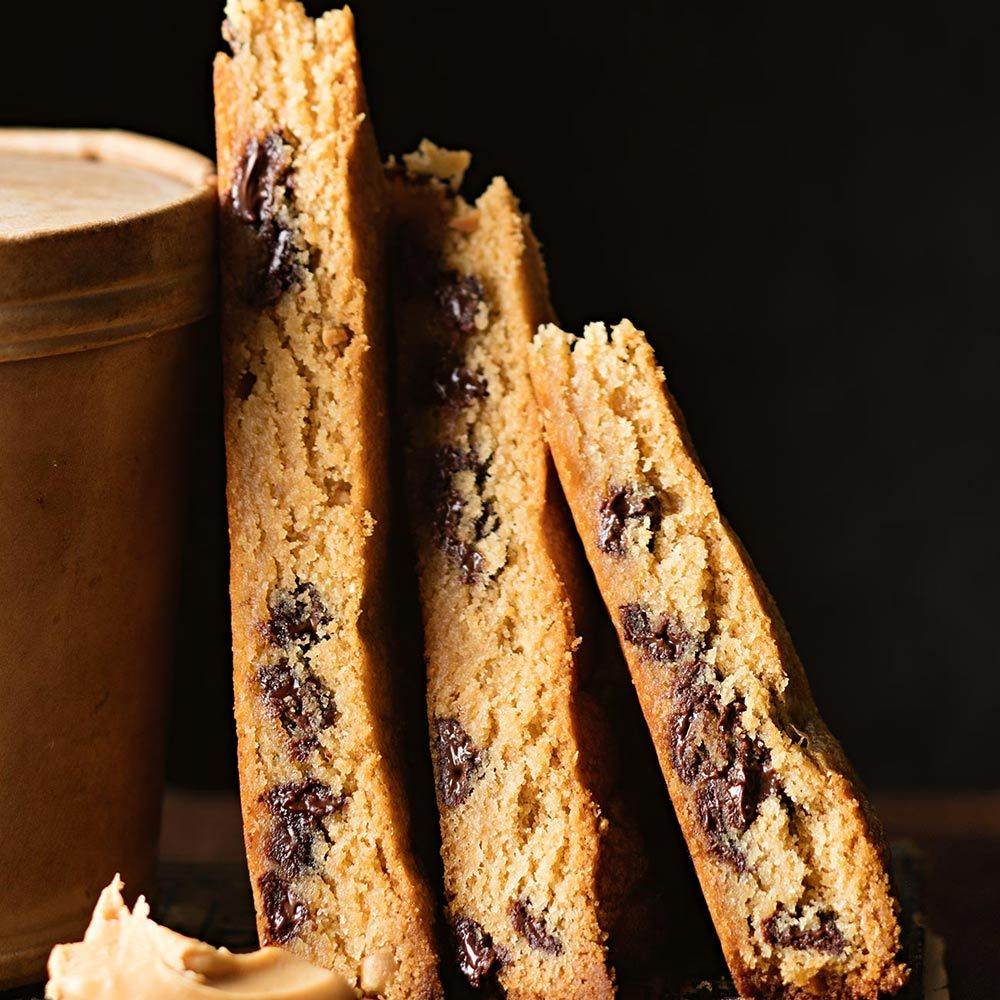 Peanut Butter Choc Chip Wedges Recipe Family Baking