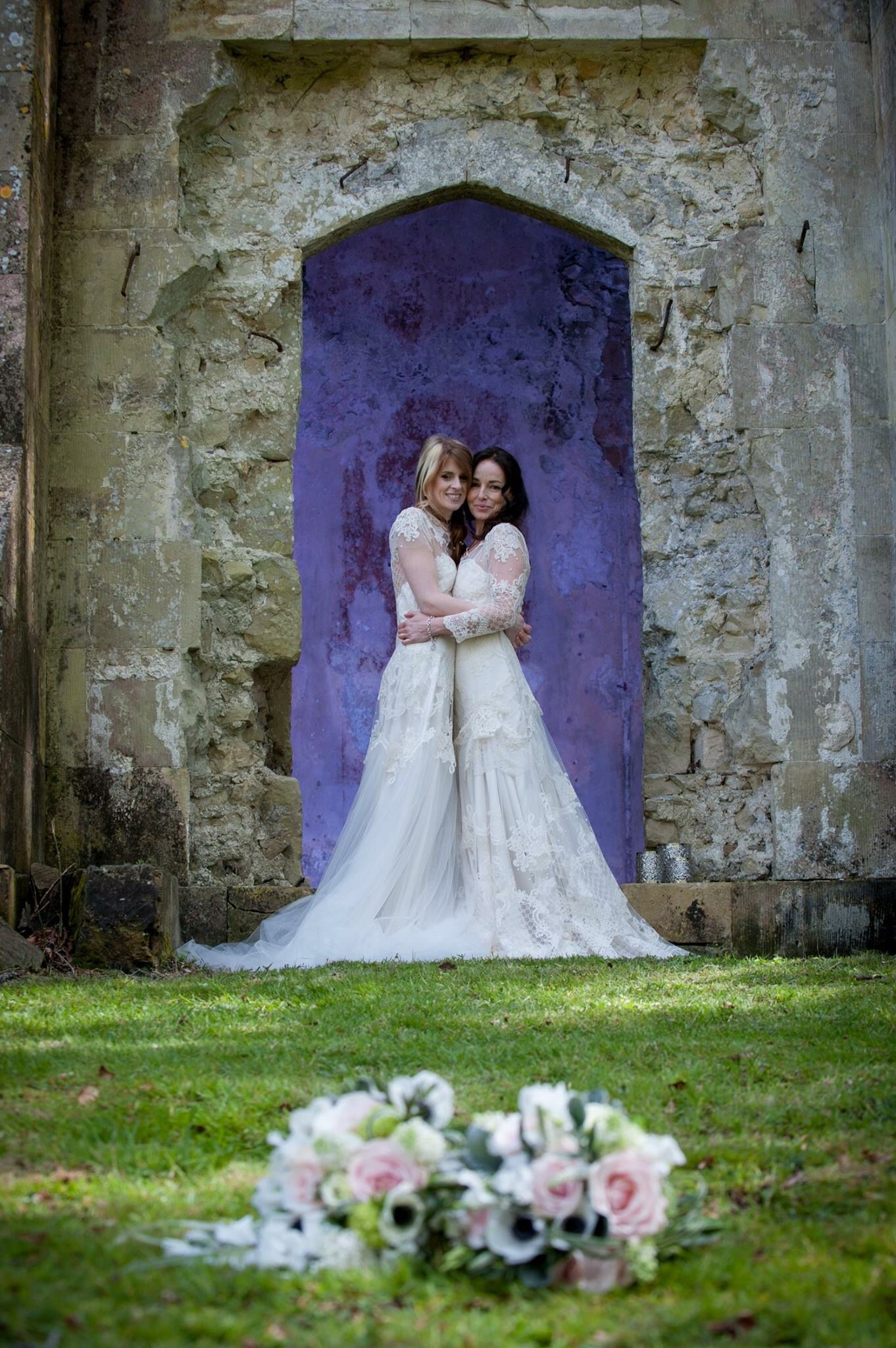 Styled shoot at Pythouse Park, Wiltshire. Bridal dresses designed ...