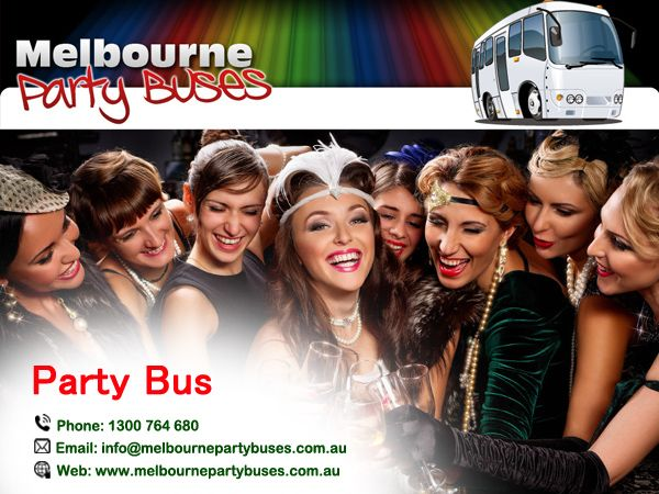 Melbourne Party Buses offers the easiest & safest way to have your Party. http://goo.gl/kxRSGS