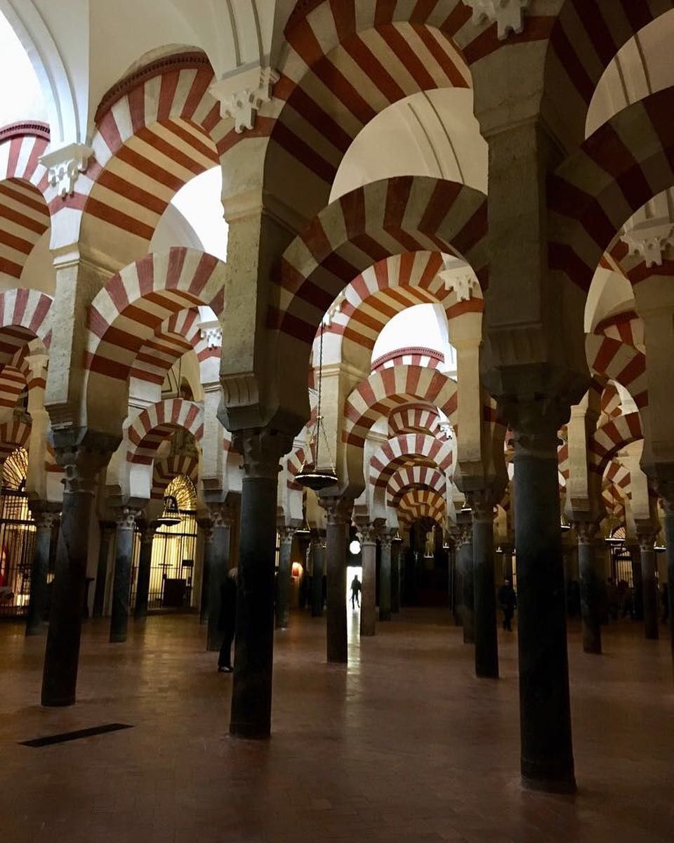 sensory overload at mezquitadecordoba the mosque cathedral in