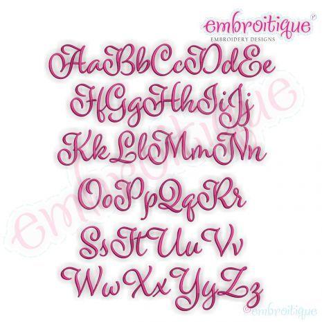Font Frames :: Reagan Beautiful Classy Upright Calligraphy Script ...