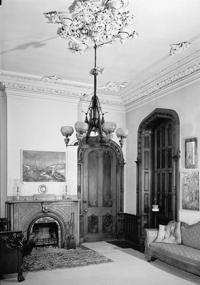 John F Singer House Mansion Pittsburgh Pennsylvania April 1963 Southwest Room First Floor Mansions Historical