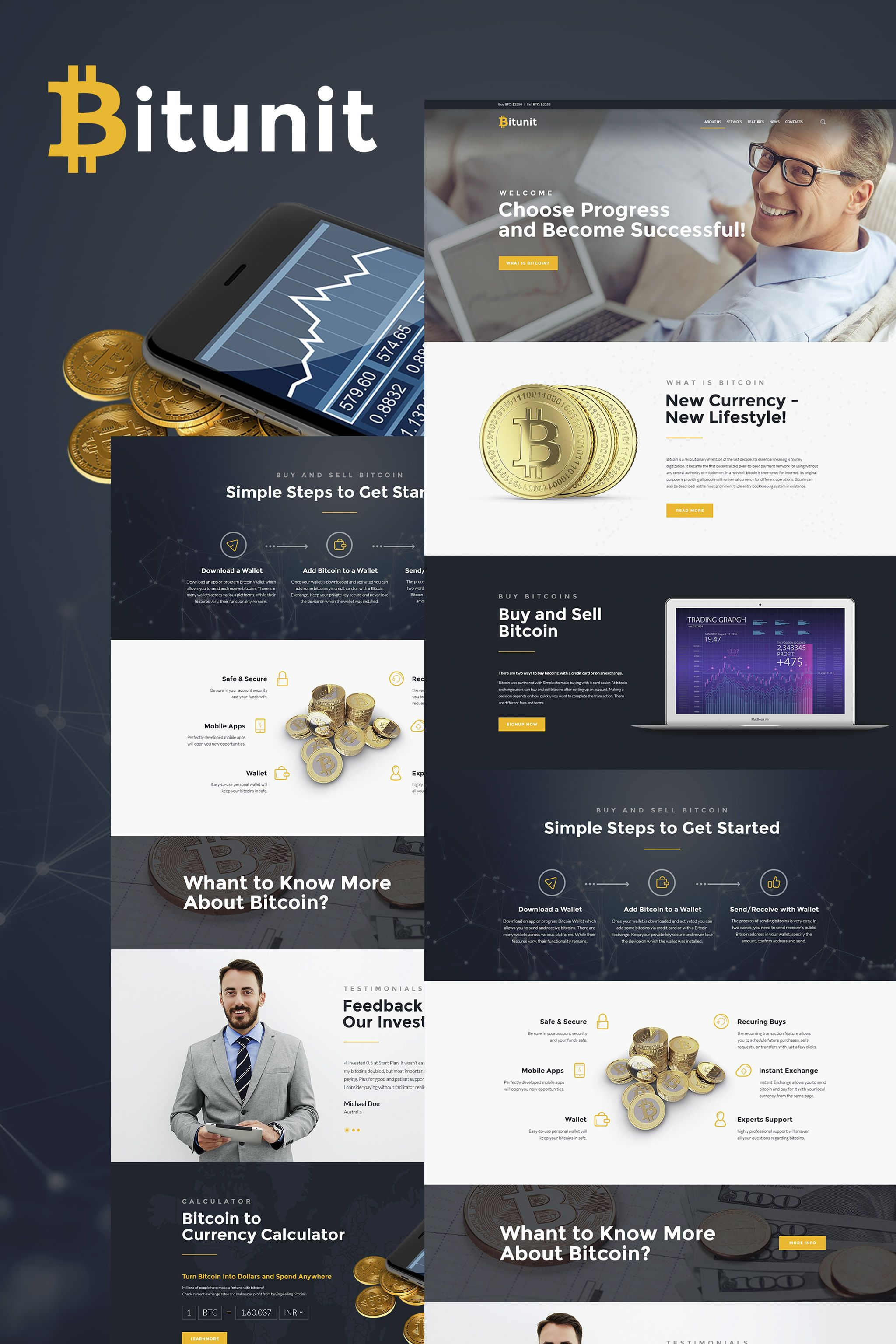 bitunit bitcoin cryptocurrency wordpress theme wordpress theme wordpress themes templates. Black Bedroom Furniture Sets. Home Design Ideas