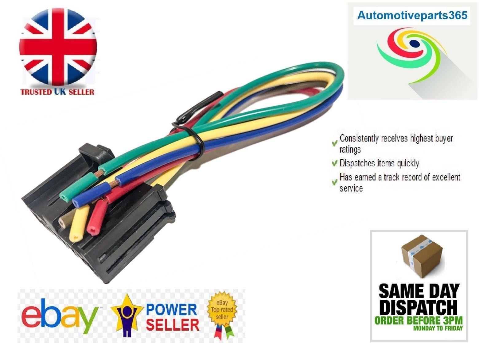 £8.95 GBP - Brand Heater Resistor Wiring Harness Loom Repair Kit Peugeot  Boxer Van #