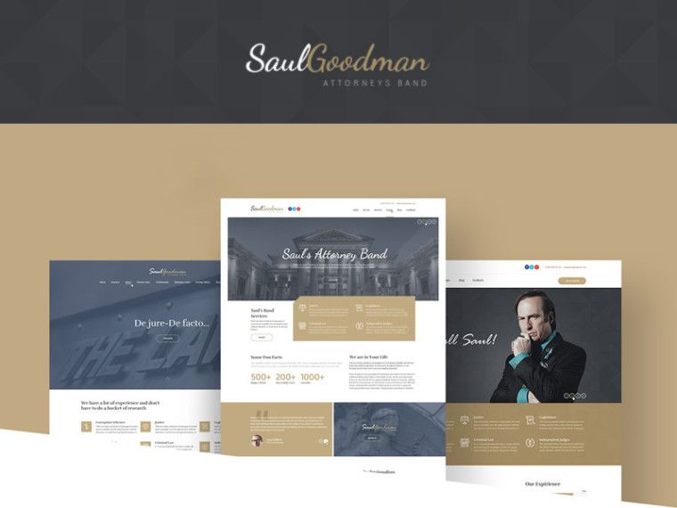 Saulgoodman freebies pinterest template law firm website and saul goodman law attorneys is modern yet classy template concept suited for a law firm website the color scheme looks great and suits this type of colourmoves