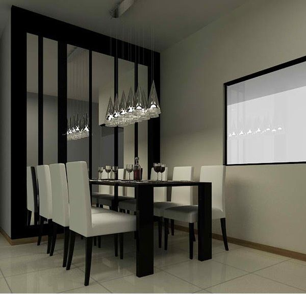 Modern Dining Black White And Gold Roommoshi Gitelis Beauteous Dining Room White Review