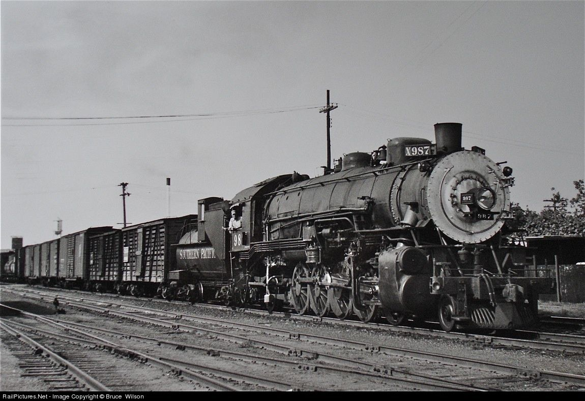 Railpictures Net Photo 987 Southern Pacific Railroad