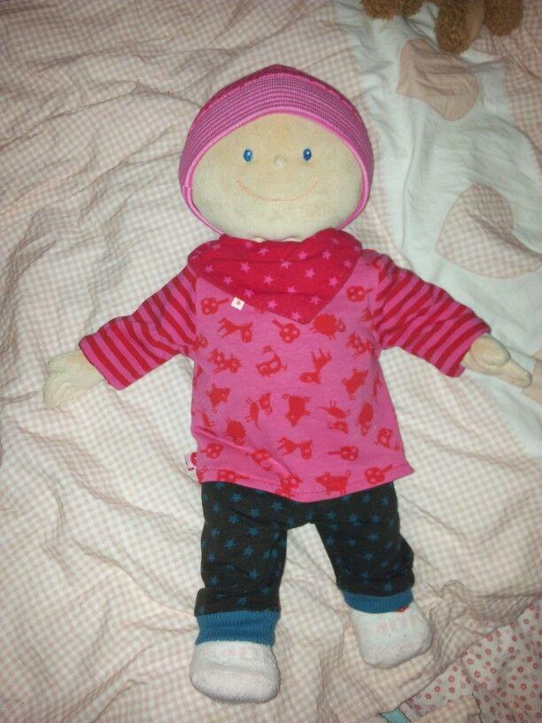 Puppenkleidung für Krümel... Schnittmuster von klimperklein und ...