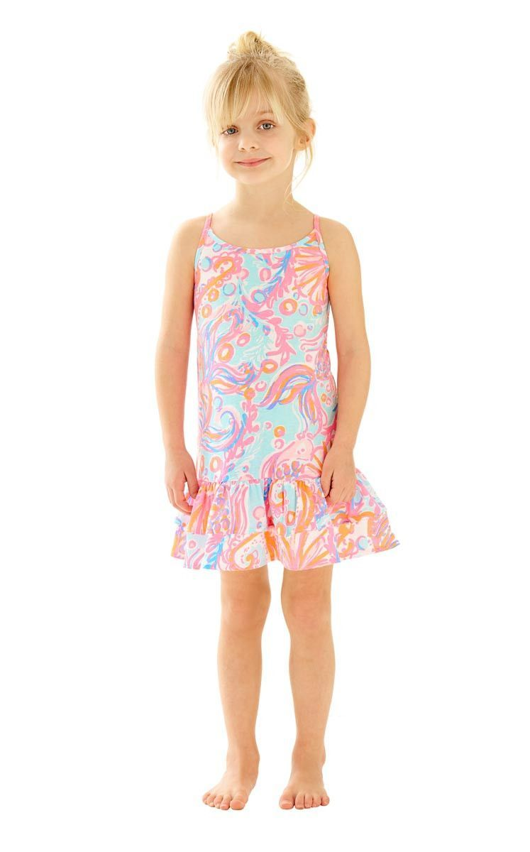 50c21ce16e44e1 GIRLS ARELLA DRESS PINK POUT TOO MUCH BUBBLY | Products | Ruffle ...