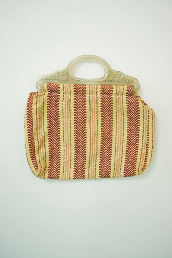 Vintage Knitting Bag My Grandma Had One Like This But Wood Handles I Now Have It Knitting Tote Bag Bags Knitted Bags