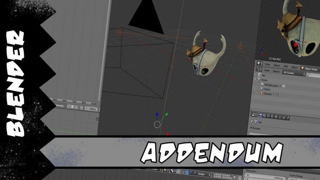 Blender Compositing Addendum   3d   Desktop screenshot
