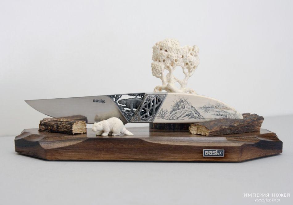 Купить нож БАСКо - Баско-8 Бобер за 172000 рублей с доставкой по РФ