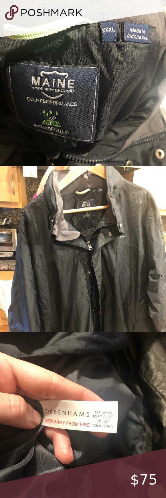 Debenhams Fleece Lined Men S Jacket Xxxl Debenhams Maine New England Golf Performance Men S Fleece Lined Jacket Xxxl O Line Jackets Maine New England Debenhams [ 1740 x 580 Pixel ]
