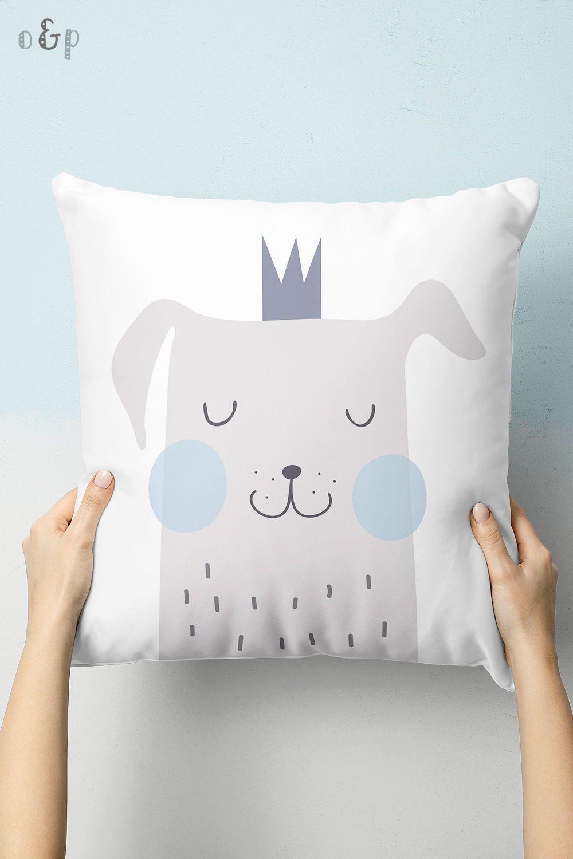 Scandinavian Baby Pillow Throw Pillow Dog Pillow Kids Pillow