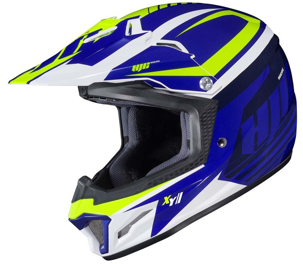 Shop Hjc Cl Xy Ii Bator Motocross Youth Helmet By Size Color More From Motorcycler Com Free Shipping On Orde Motocross Helmets Helmet Offroad And Motocross
