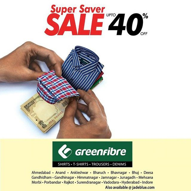 #JadeBlue #SuperSaverSale #Greenfibre #MensFashion #Style #Fashion #Celebrations #Clothing