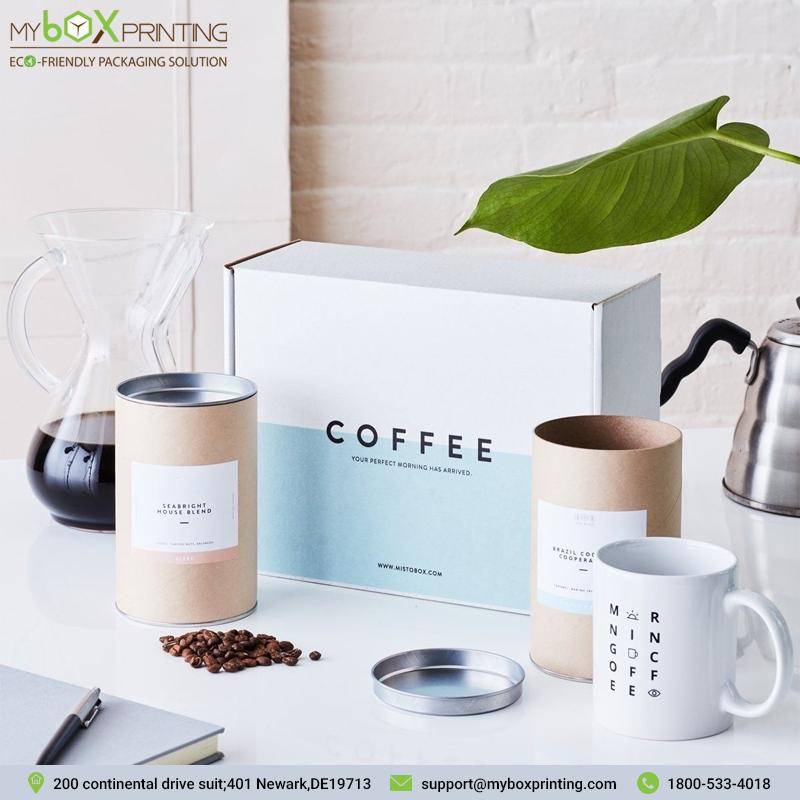 Custom Coffee Boxes in 2020 Coffee box, Coffee gifts box