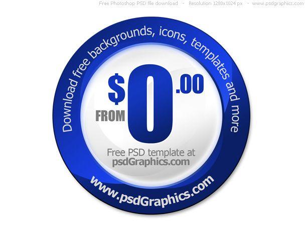 Price Tag Psd File Templates