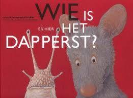 Wie is er hier het dapperst? Prentenboek van Lorenz Pauli en Kathrin Schärer
