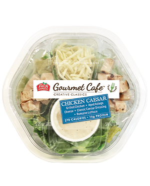 NEW Fresh Express Gourmet Cafe, Chicken Caesar Salad.