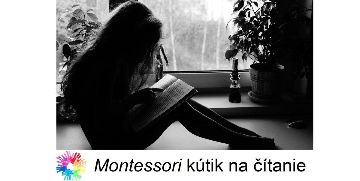 Ako si doma vytvoriť montessori kútik na čítanie