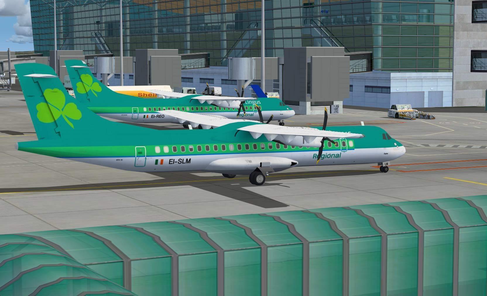 ATR72-210/500 in Ae Lingus Regional color scheme.
