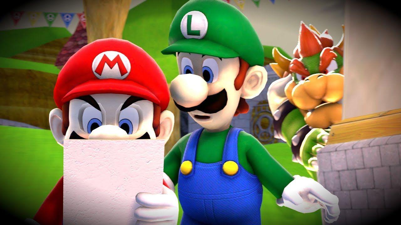 Sfm Hotel Mario Intro Remake King Koopa Super Mario World Mario