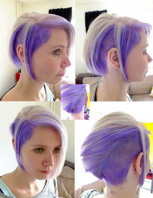 Two Tone Hair Color For Quick Hair Short Hairstyles Styling Kurzes Haar Haarfarbe Verruckt Kurze Haarfarbe