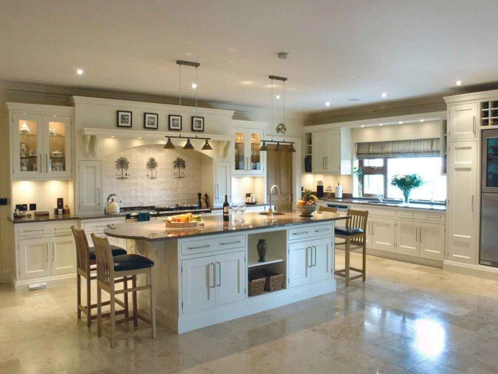 Open Kitchen With Large Island Luxury Kitchen Ideas Luxury Mansions