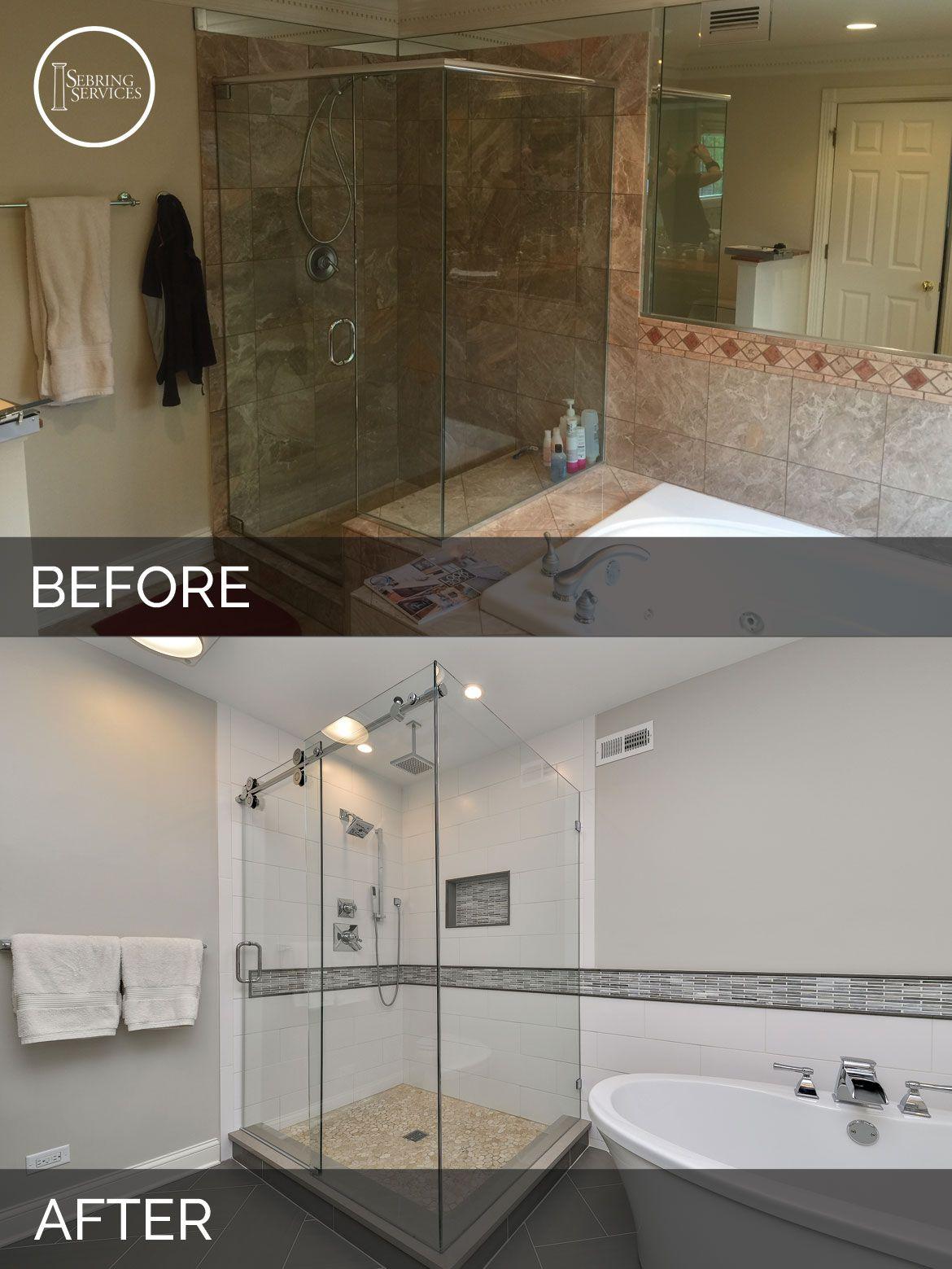Greg Julie S Master Bathroom Remodel Before After Pictures Bathroom Remodel Master Bathrooms Remodel Beautiful Bathroom Decor