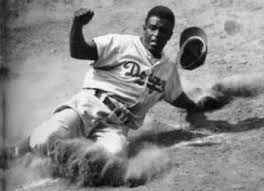 Jackie Robinson, worlds bravest baseball player