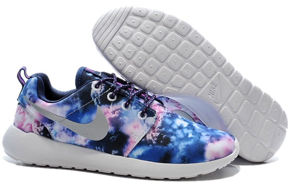 separation shoes bc675 653de Custom Nike Roshe Run Clouds-Sky Blue by TagzCustomkickz on Etsy