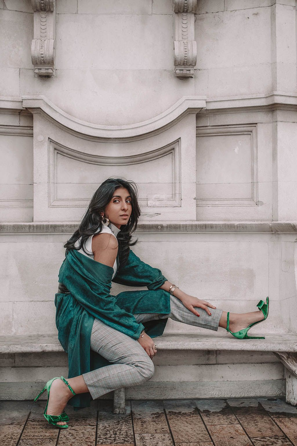 0fa0463945b Fashion blogger Shloka Narang of The Silk Sneaker shares another great  spring outfit idea