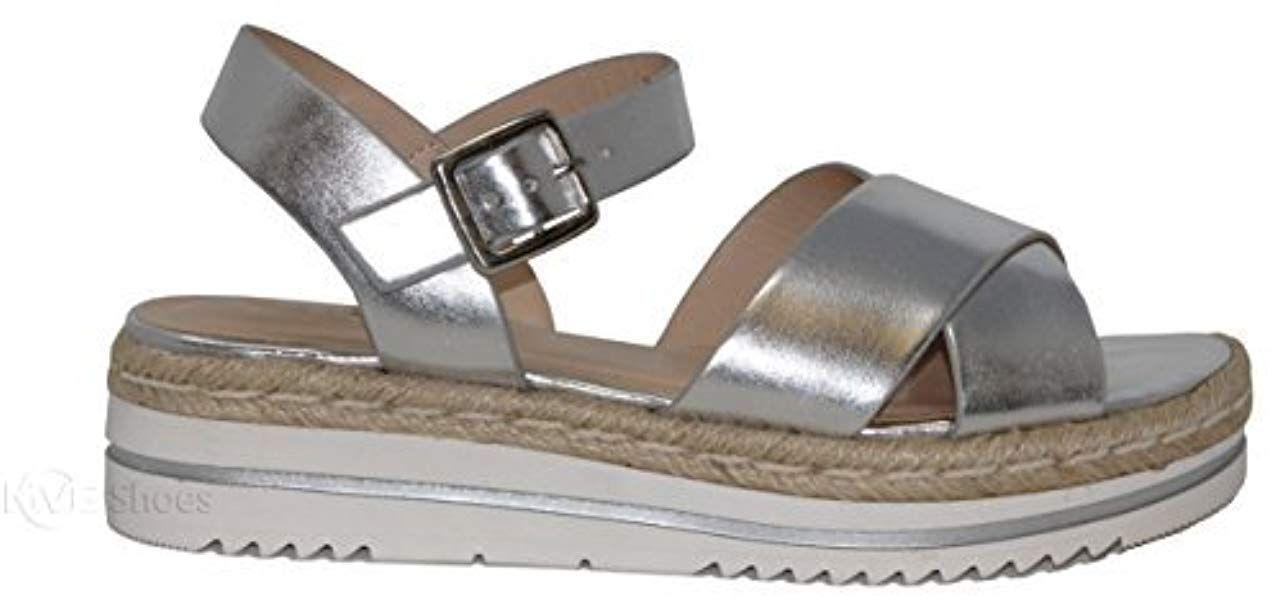 ecfdf6cee21 Amazon.com   MVE Shoes Women's Adjustable Ankle Strap -Summer ...