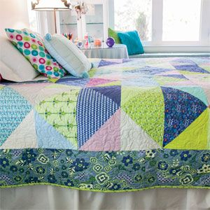 Urban Jungle: Quick Easy Large-Block Quilt Pattern   quilts, for ... : large block quilt patterns - Adamdwight.com