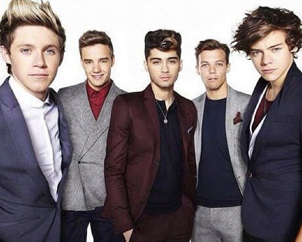 One Direction looking fit as ever