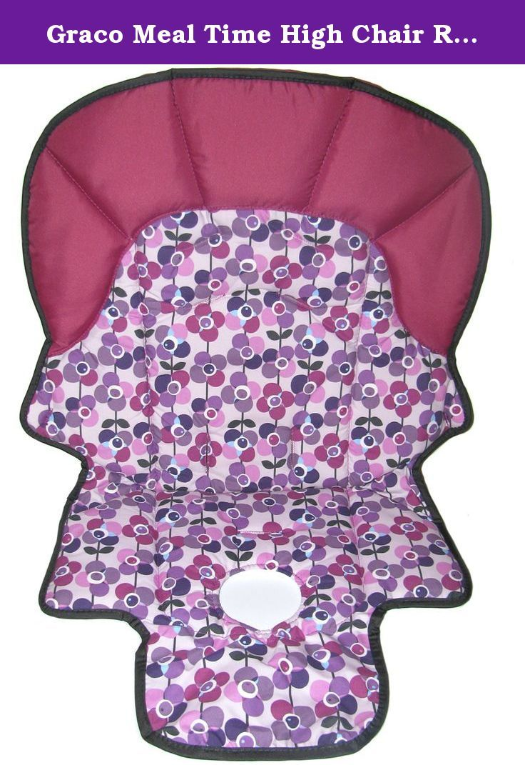 Graco meal time high chair - Graco Meal Time High Chair Replacement Seat Pad Cover Cushion Pink Replacement Seat