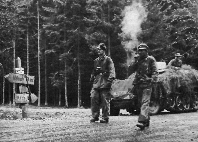 Während der Ardennen-Offensive - ca 1944