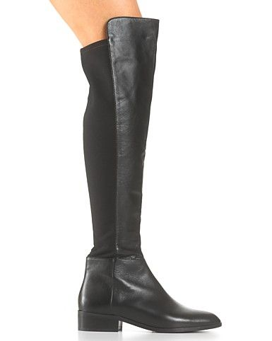 I need/want over the knee black boots...surfing the web and found these ones by Michael Kors