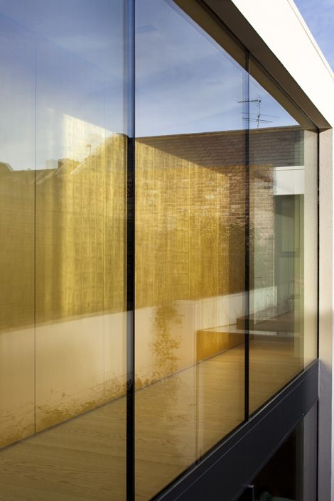 Rupert Bevan - Interior Finishes - Gold Gilded Wall Panelling ...