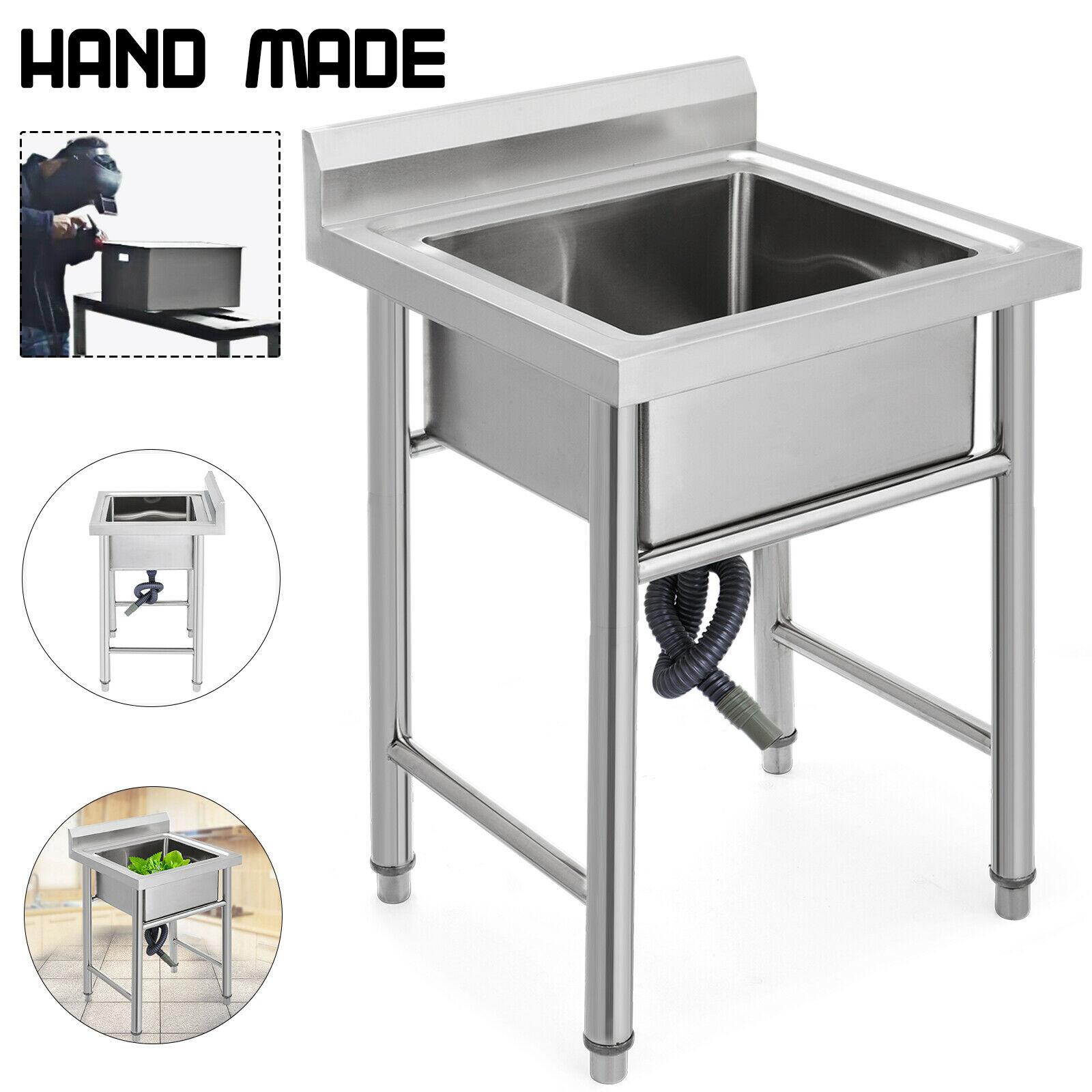 Lavello cucina acciaio inox 60 X 60 CM Wash Basin ...