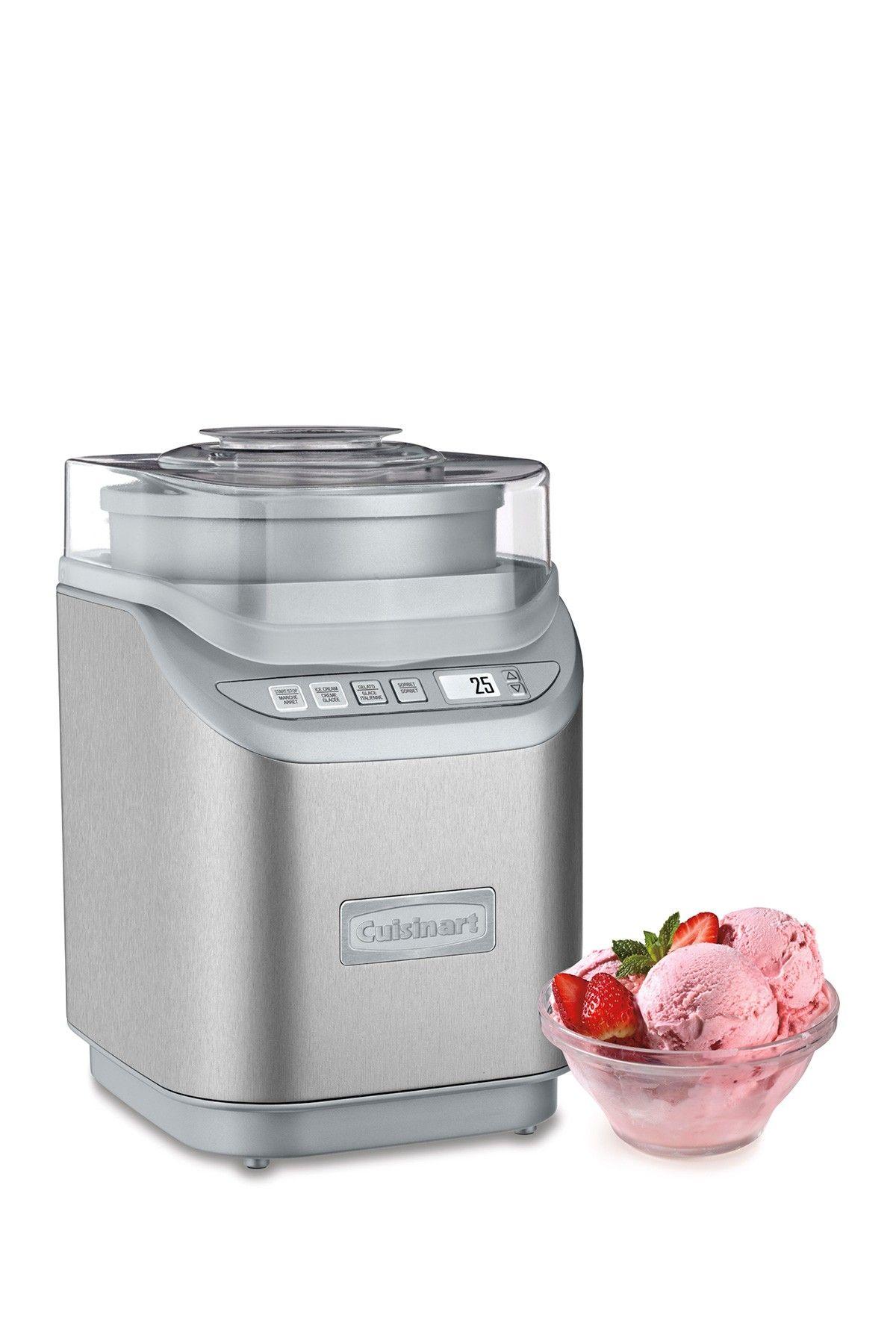 Cuisinart 2 Quart Electric Ice Cream Gelato Sorbet Maker Cuisinart Ice Cream Maker Sorbet Maker Best Ice Cream Maker