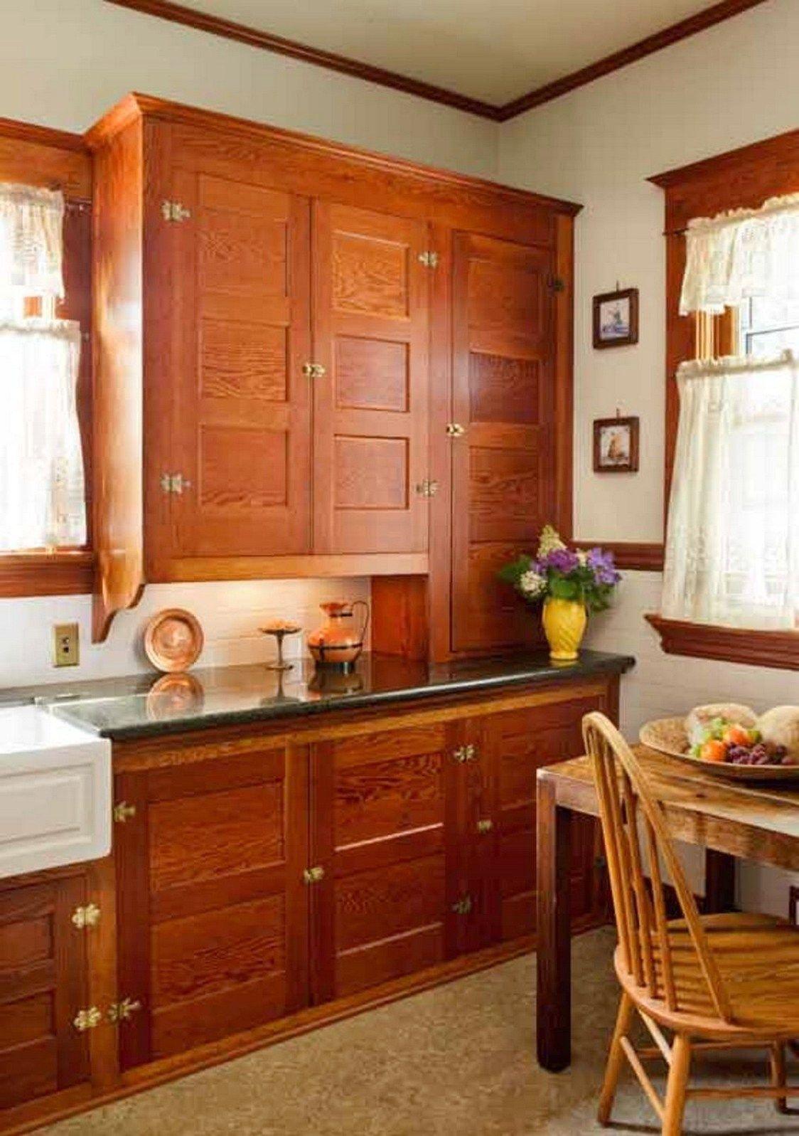 101 awesome craftsman kitchen design ideas (73)   Bungalow ...