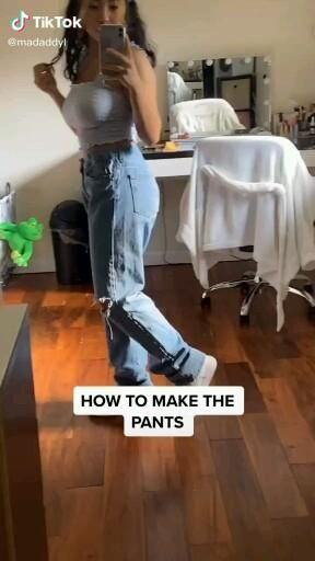how to make ☄this☄ pants