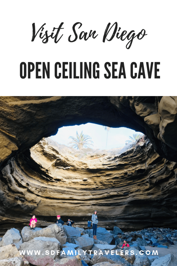 Open Ceiling Sea Cave - San Diego Family Travelers