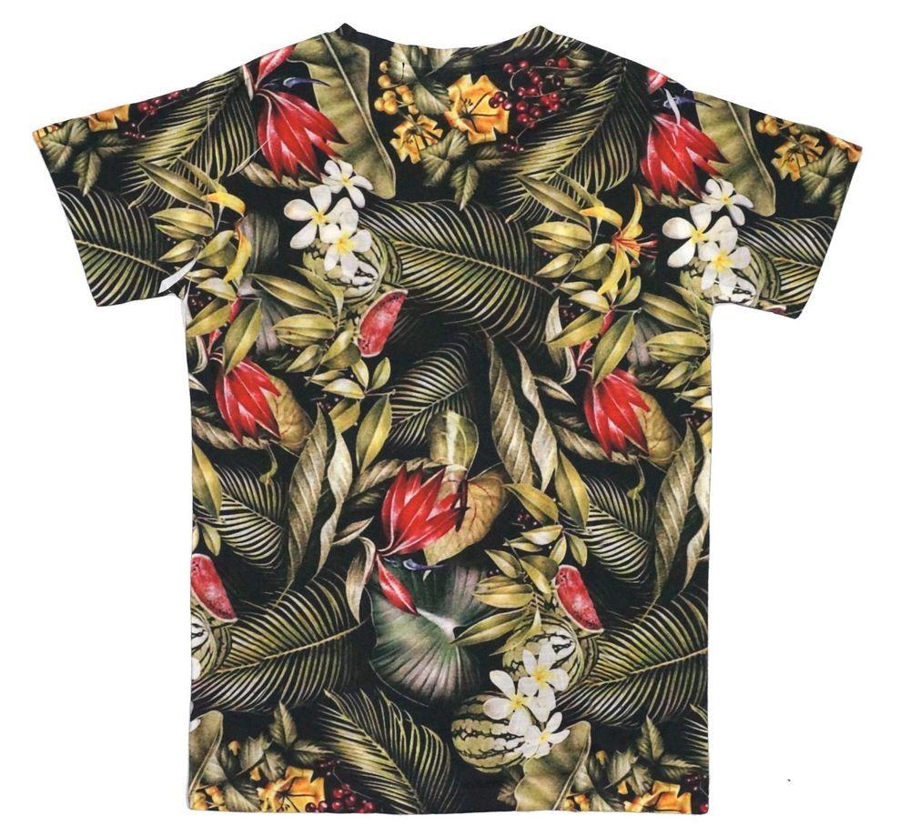 KAYDEN.K Men's Sublimation Allover print Tee T-shirt ...